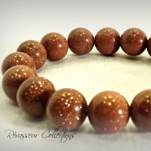 Sand Storm Gemstone Bracelet (Men/Women)
